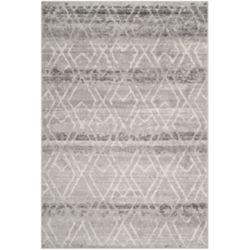 Safavieh Adirondack Elfrid Silver / Ivory 5 ft. 1 inch x 7 ft. 6 inch Indoor Area Rug
