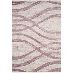 Safavieh Adirondack Gerald Cream / Purple 6 ft. x 9 ft. Indoor Area Rug