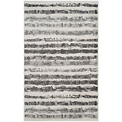 Safavieh Adirondack Callista Ivory / Charcoal 3 ft. x 5 ft. Indoor Area Rug