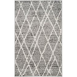 Safavieh Adirondack Toni Ivory / Silver 2 ft. 6 inch x 4 ft. Indoor Area Rug