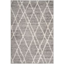 Safavieh Adirondack Toni Ivory / Silver 5 ft. 1 inch x 7 ft. 6 inch Indoor Area Rug