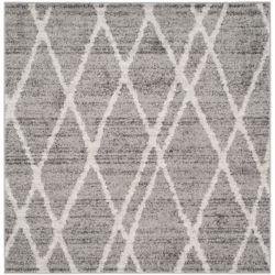 Safavieh Adirondack Toni Ivory / Silver 6 ft. x 6 ft. Indoor Square Area Rug