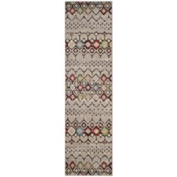 Safavieh Amsterdam Susan Light Grey / Multi 2 ft. 3 inch x 8 ft. Indoor Runner