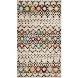 Safavieh Amsterdam Susan Ivory / Multi-Colour 3 ft. x 5 ft. Indoor Area Rug
