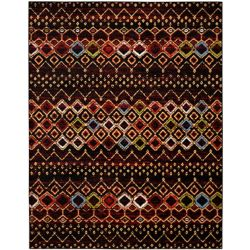 Safavieh Amsterdam Susan Black / Multi 8 ft. x 10 ft. Indoor Area Rug