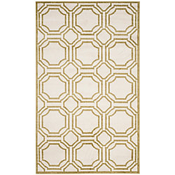 Safavieh Amherst Roscoe Ivory / Light Green 5 ft. x 8 ft. Indoor/Outdoor Area Rug