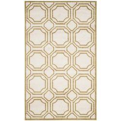 Safavieh Amherst Roscoe Ivory / Light Green 5 ft. x 8 ft. Indoor/Outdoor Area Rug
