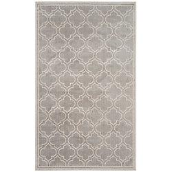 Safavieh Amherst Shirley Light Grey / Ivory 4 ft. x 6 ft. Indoor/Outdoor Area Rug