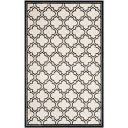 Safavieh Amherst Shirley Ivory / Anthracite 5 ft. x 8 ft. Indoor/Outdoor Area Rug