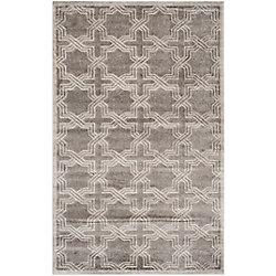 Safavieh Amherst Wilson Grey / Light Grey 4 ft. x 6 ft. Indoor/Outdoor Area Rug