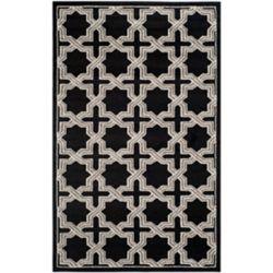 Safavieh Amherst Marist Anthracite / Grey 4 ft. x 6 ft. Indoor/Outdoor Area Rug