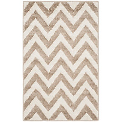 Safavieh Amherst Paula Wheat / Beige 2 ft. 6 inch x 4 ft. Indoor/Outdoor Area Rug