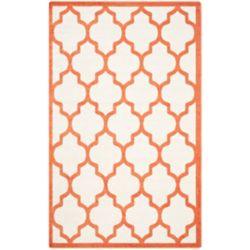 Safavieh Amherst Bradford Beige / Orange 4 ft. x 6 ft. Indoor/Outdoor Area Rug