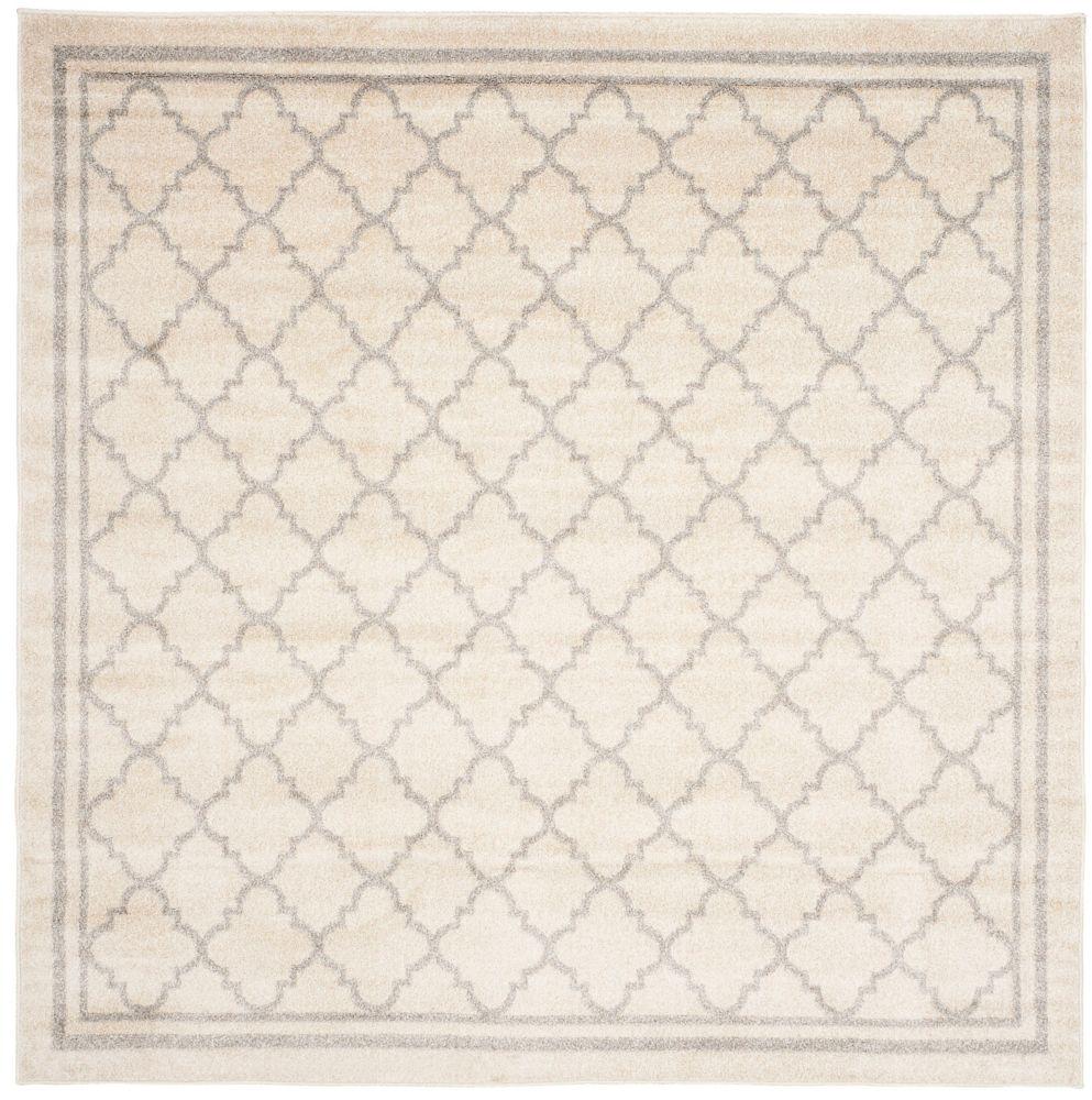Safavieh Amherst Blanche Beige / Light Grey 7 ft. x 7 ft. Indoor/Outdoor Square Area Rug