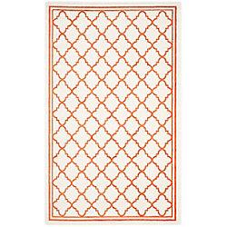 Safavieh Amherst Blanche Beige / Orange 6 ft. x 9 ft. Indoor/Outdoor Area Rug