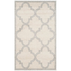 Safavieh Amherst Aidan Beige / Light Grey 2 ft. 6 inch x 4 ft. Indoor/Outdoor Area Rug