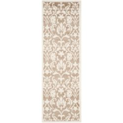 Safavieh Amherst Seth Wheat / Beige 2 ft. 3 inch x 7 ft. Indoor/Outdoor Runner