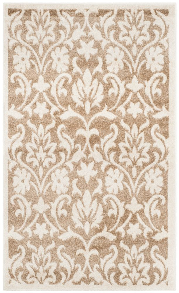 Safavieh Amherst Seth Wheat / Beige 3 ft. x 5 ft. Indoor/Outdoor Area Rug