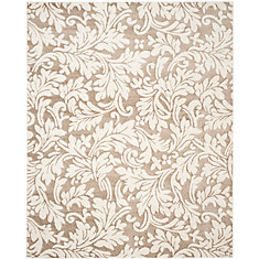 Amherst Chase Wheat / Beige 8 ft. x 10 ft. Indoor/Outdoor Area Rug