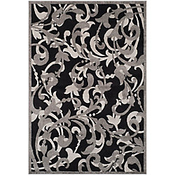 Safavieh Amherst Elaine Anthracite / Light Grey 8 ft. x 10 ft. Indoor/Outdoor Area Rug
