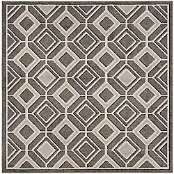 Safavieh Amherst Trenton Grey / Light Grey 7 ft. x 7 ft. Indoor/Outdoor Square Area Rug