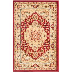 Safavieh Austin Sutton Red / Cream 2 ft. 6 inch x 4 ft. Indoor Area Rug