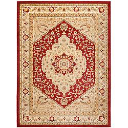 Safavieh Austin Sutton Red / Cream 8 ft. x 11 ft. Indoor Area Rug