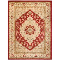 Safavieh Austin Sutton Red / Cream 8 ft. x 11 ft. Indoor Area Rug