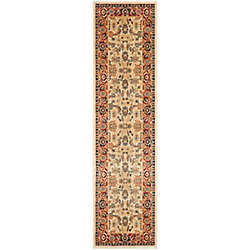 Safavieh Austin Talbot Cream / Red 2 ft. 3 inch x 8 ft. Indoor Runner
