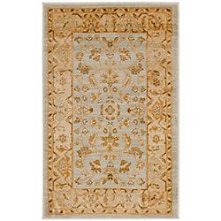 Safavieh Austin Thaddeus Light Grey / Gold 2 ft. 6 inch x 4 ft. Indoor Area Rug