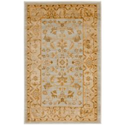 Safavieh Austin Thaddeus Light Grey / Gold 2 ft. 6 inch x 4 ft. Indoor Area Rug
