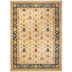 Safavieh Austin Reed Cream / Navy 8 ft. x 11 ft. Indoor Area Rug