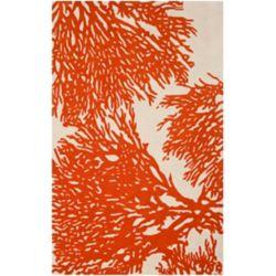 Safavieh Bella Marvin Beige / Terracotta 6 ft. x 9 ft. Indoor Area Rug