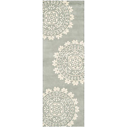Safavieh Bella Alan Grey / Ivory 2 ft. 3 inch x 7 ft. Indoor Runner