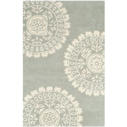 Safavieh Bella Alan Grey / Ivory 3 ft. x 5 ft. Indoor Area Rug