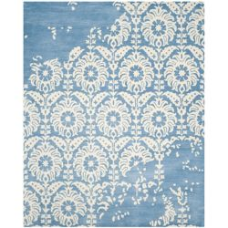 Safavieh Bella Dexter Light Blue / Ivory 8 ft. x 10 ft. Indoor Area Rug