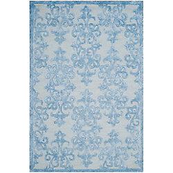 Safavieh Bella Garen Blue 4 ft. x 6 ft. Indoor Area Rug