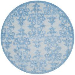 Safavieh Bella Garen Blue 5 ft. x 5 ft. Indoor Round Area Rug