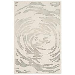 Safavieh Bella Joss Ivory / Grey 2 ft. 6 inch x 4 ft. Indoor Area Rug