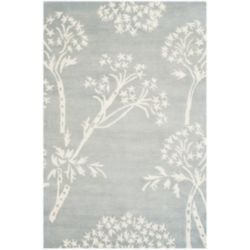 Safavieh Bella Karen Light Blue / Ivory 4 ft. x 6 ft. Indoor Area Rug