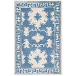 Safavieh Bella Carly Blue / Ivory 2 ft. 6 inch x 4 ft. Indoor Area Rug