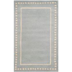 Safavieh Tapis d'intérieur, 2 pi 6 po x 4 pi, Bella Myra, bleu clair / ivoire