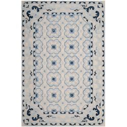 Safavieh Bella Patrice Ivory / Blue 6 ft. x 9 ft. Indoor Area Rug