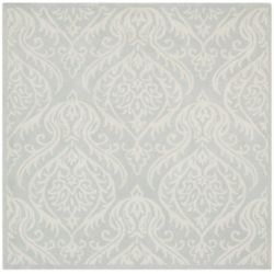 Safavieh Bella Sophie Silver / Ivory 6 ft. x 6 ft. Indoor Square Area Rug