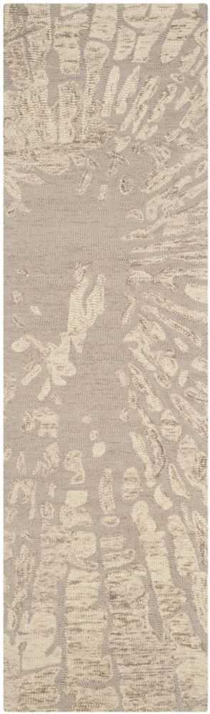 Safavieh Bella Tara Winter Taupe 2 ft. 3 inch x 12 ft. Indoor Runner