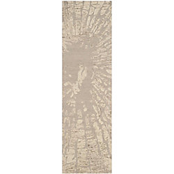 Safavieh Bella Tara Winter Taupe 2 ft. 3 inch x 8 ft. Indoor Runner