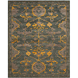 Safavieh Bella Melody Blue Grey / Gold 5 ft. x 8 ft. Indoor Area Rug