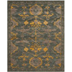 Safavieh Bella Melody Blue Grey / Gold 8 ft. x 10 ft. Indoor Area Rug