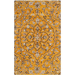 Safavieh Bella Eason Gold / Taupe 2 ft. 6 inch x 4 ft. Indoor Area Rug