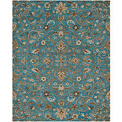 Safavieh Bella Eason Blue / Taupe 5 ft. x 8 ft. Indoor Area Rug